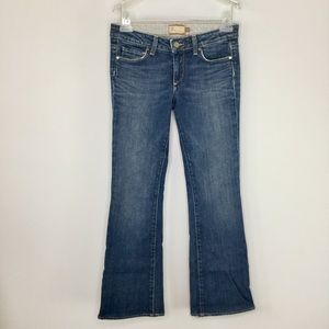 Paige Hollywood Hills boot cut jeans 27.5 inseam